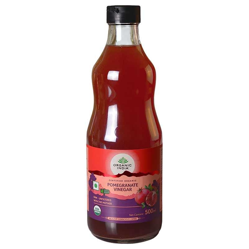 ORGANIC POMEGRANATE VINEGAR 500 ML